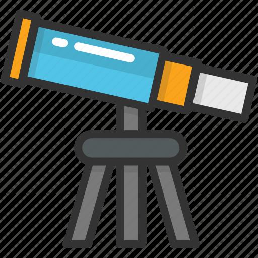 astronomy, search, spyglass, telescope, vision icon