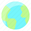continent, earth, globe, planet, space