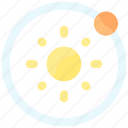 orbit, planet, solar, space, sun, system