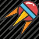 exploration, satellite, science, space shuttle, sputnik icon