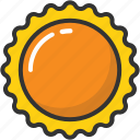 daylight, daystar, planet, sun, sunlight icon