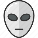 alien, fear character, halloween, humanoid, spooky icon