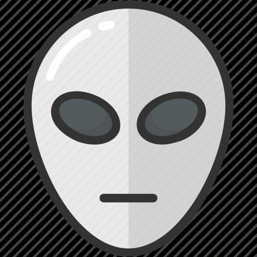 alien, fear character, halloween, humanoid, spooky icon