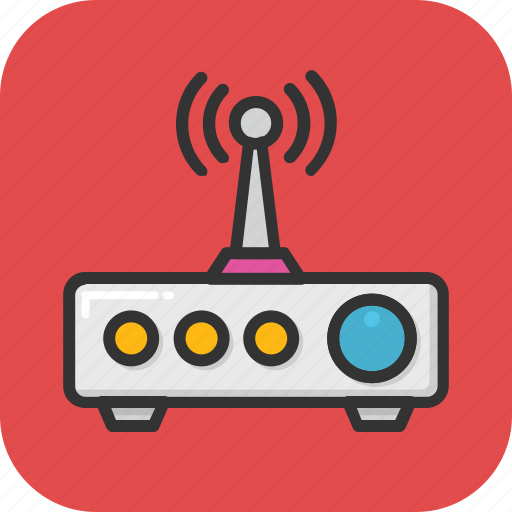 booster, internet, modem, router, wlan icon
