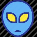 alien, galaxy, monster, planet, space, universe