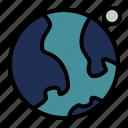 space, earth, planet, globe