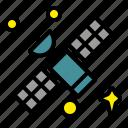 space, astronomy, galaxy, satellite