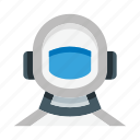 astronaut, space, suit, spacesuit, helmet, armor, astronomy icon