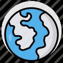 earth, world, globe, geography, planet