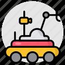 moon robot, lunar rover, lunar vehicle, moon rover, moonwalker robot