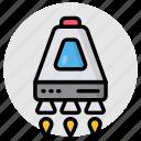 launch, rocket, missile, spacecraft, spaceship