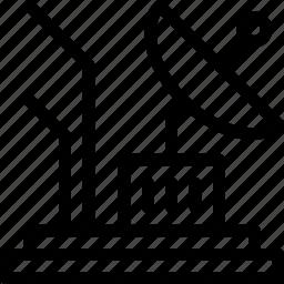 antenna, dish, parabolic, signal, space icon