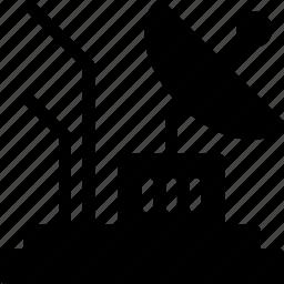 antenna, dish, parabolic, satellite, space icon