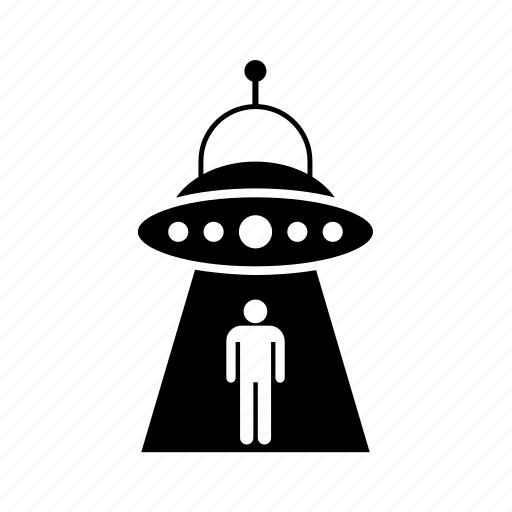 flying saucer, space, ufo, unidentified flying object icon