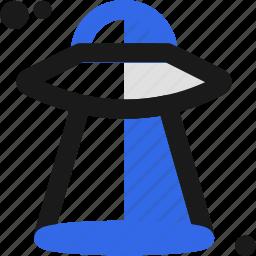 alien, martian, ovni, ship icon