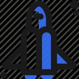 apollo, conquer, navigate, rocket, ship, space, start icon