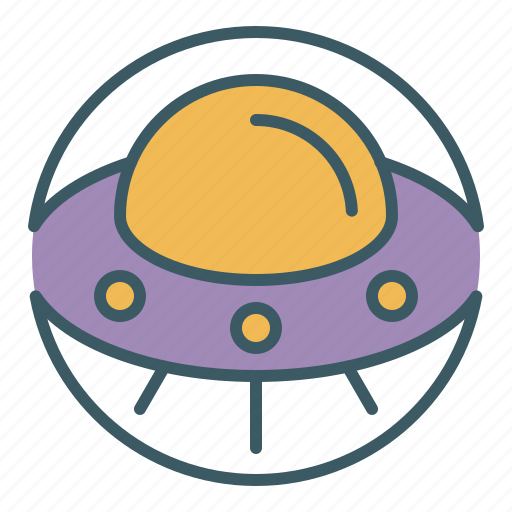 alien, circle, spaceship, ufo icon