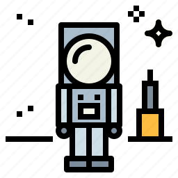 astronaut, galaxy, space, spaceman icon