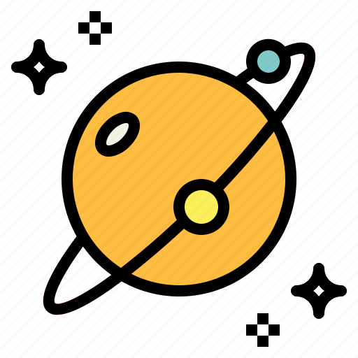 education, planet, science, space icon