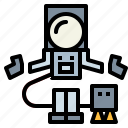 astronaut, space, spaceman, suit icon