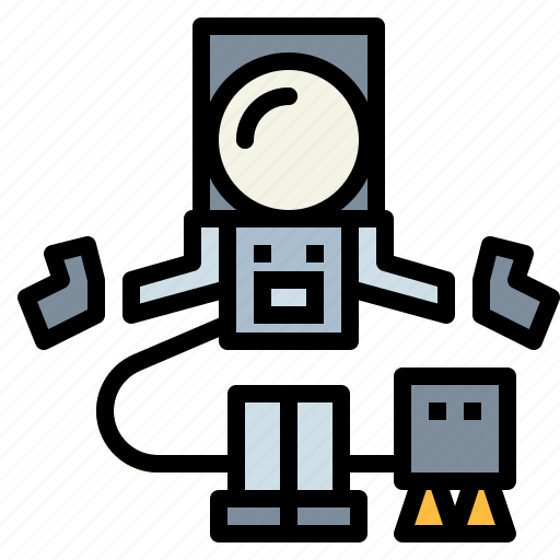 Astronaut, space, spaceman, suit icon - Download on Iconfinder