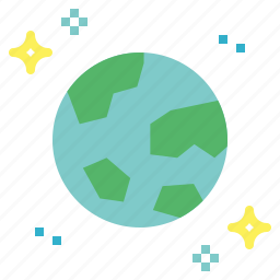 earth, global, planet icon