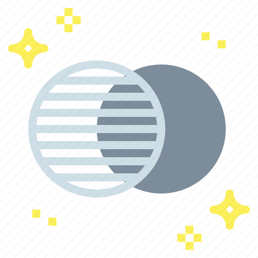 covering, eclipse, eclipses, partially icon
