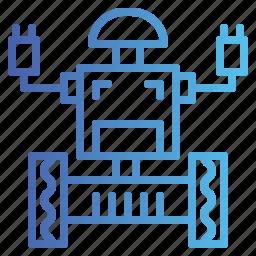 machine, robot, robotics, science icon