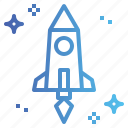 rocket, ship, space, startup
