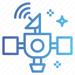 communication, connection, satellite, space icon