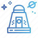 capsule, galaxy, rocket, ship, space icon