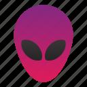 alien, galaxy, space