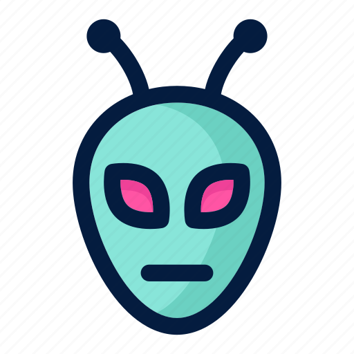 aliens, astronaut, astronomy, monster, science, space icon