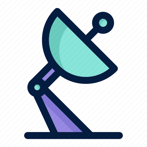 astronaut, astronomy, science, signal, space icon