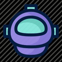 astronaut, astronomy, helmet, science, space icon
