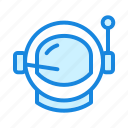 astronaut, astronaut-helmet, explore, space icon