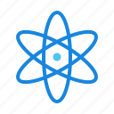 atom, chemical, chemistry, experiment, molecule, physics, science icon