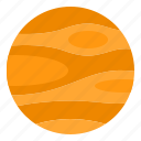 astronomy, education, planet, science, solar, system icon
