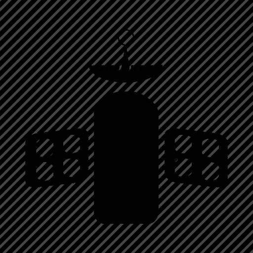 satellite, send, signal, space, television, transmit icon
