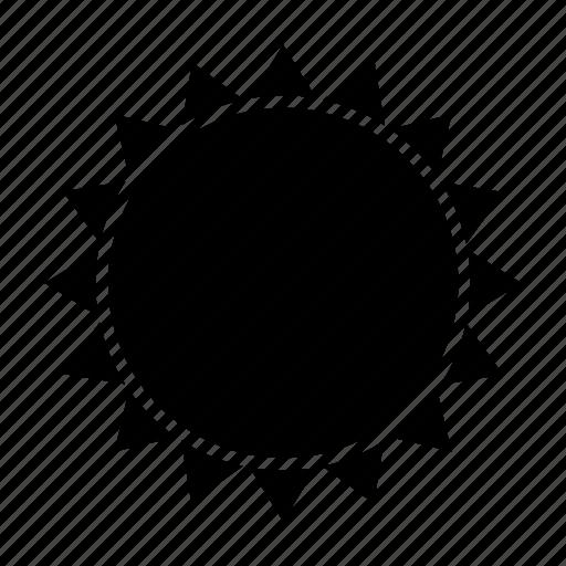 solar, space, star, summer, sun, warm icon