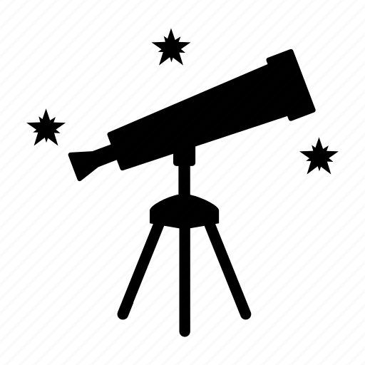 exploration, gazing, science, space, star, telescope icon