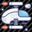 astronaut, shuttle, space, spaceship icon