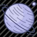 planet, space, universe, uranus icon