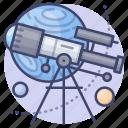 astronomy, star, telescope