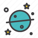 astronomy, sience, sky, space icon