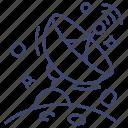 antenna, radar, satellite, signal
