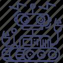 artificial, robotic, robot, machine icon