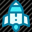 launch, rocket, ship, shuttle, space, transport