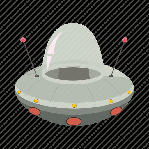 alien, cartoon, flying, saucer, space, spaceship, ufo icon