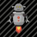 equipment, robot, space icon